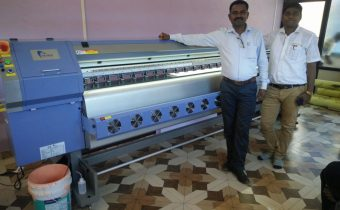 Allwin Konica flex printing machine